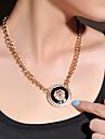 Oil Droplet lion's Head Necklace
