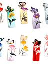 бумага в форме бабочки, закладки (случайные цвета)
