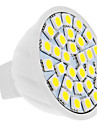 5W GU5.3(MR16) LED Spotlight 30 SMD 5050 350 lm Warm White / Cool White DC 12 V