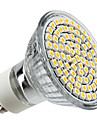 4w gu10 led spot mr16 80 smd 3528 350-400 lm blanc chaud 220-240 v