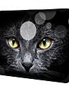 """Cat Face Black"" Pattern Material Nylon Waterproof Case Sleeve para 11 ""/ 13"" / 15 ""Laptop e Tablet"