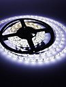 5M 20W 300x3528SMD White Light LED Strip Lamp with AC Adapter (100-240V)