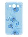 Exquisite Flower Hard Case Padrão para Samsung I8552 Galaxy Vitória