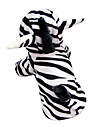 Funny Cute 3D Zebra Pattern Hoody Suit for Dogs (XS-XL)