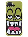 아이폰 5/5S를위한 만화 괴물 디자인 단단한 케이스