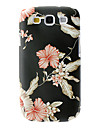 Elegant Design Flower Pattern Hard Case for Samsung Galaxy S3 I9300
