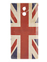 Retro UK Flag Padrão Hard Case para Sony Xperia P LT22i