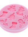 выпечке Mold Мультфильм образный Для торта / Для Cookie / Для Pie силиконовый Экологичность / Новогодняя тематика / Сделай-сам / 3D