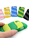 Cotton Candy Design Silica Gel Soft Case for iPhone 5/5S (Assorted Colors)