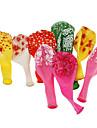 10pcs는 불꽃 놀이 패턴 사탕 색깔 풍선
