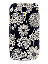 Exquisite Flower Pattern Soft Case for Samsung Galaxy S4 I9500