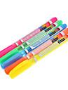 5 Pack Красочные маркера (желтый, красный, оранжевый, зеленый, синий)