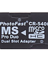 Micro SD/TF Memory Stick PRO Duo Reader CR-5400(Two Colors)