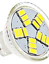 1.5W GU4(MR11) LED Spotlight MR11 15 SMD 5630 120-150 lm Natural White AC 12 V