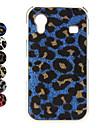 Жесткий чехол на Samsung Galaxy Ace с леопардовым дизайном (разные цвета)