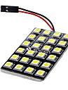 T10 BA9S Фестон Автомобиль белый 12W Светодиоды для поверхностного монтажа 6000-6500Лампа для чтения Лампа освещения номерного знака