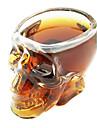 Череп шаблон Wine Glass