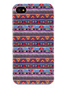 Small Stars Pattern Transparent Frame Hard Case for iPhone 4/4S