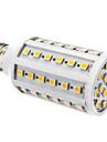 10W E26/E27 LED Corn Lights T 60 SMD 5050 800 lm Warm White Dimmable AC 220-240 V