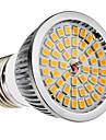 Светодиодные спот лампы, теплый белый свет (110-240V), E27 6W 48x2835SMD 580-650LM 2700-3500K