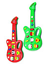 Electric Guitar Musical Mini com 12 Tunes (Powered by 2AA, cores sortidas)