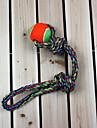 Игрушка для собак Игрушки для животных Шарообразные Жевательные игрушки Веревка Шерсть Текстиль