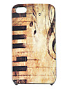 iphone 4/4s를위한 JOYLAND 빈티지 피아노 패턴 하드 케이스