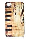 Joyland piano do vintage estojo rígido padrão para iPhone 4/4S