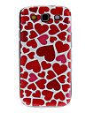 For Samsung Galaxy Case Pattern Case Back Cover Case Heart PC Samsung S3