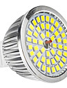 MR16 6W 48x2835SMD 500-600LM 5800-6500K Natural White Light LED Spot Bulb (12V)