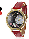 Women's and Girl's Dragonfly Pattern PU Analog Quartz Wrist Watch (Assorted Colors)