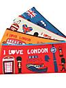 """Милый мультфильм """"Я люблю Лондон"""" серии Pen Bag (случайный цвет)"""