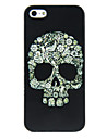 PC Skull Pattern Hard Case for iPhone 4/4S