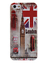 England Clock Tower Pattern Hard Case for iPhone 5/5S