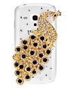Bling Bling Peacock Design Hard Case with Rhinestone for Samsung Galaxy S3 Mini I8190