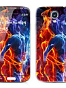 Especial Frente Diseño y traseras del protector Pegatinas para Samsung i9500 Galaxy S4