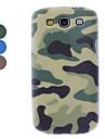 Camouflage Case dur de conception pour Samsung Galaxy S3 I9300 (couleurs assorties)
