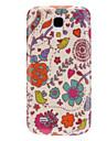 Beau cas dur durable de modèle de fleur pour Samsung Galaxy S4 Mini I9190