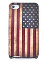 старинные флаг США узор жесткий футляр для iPhone 4/4S