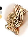 Женские кварцевые аналоговые S-образный стальной ленты браслет часов (разных цветов)