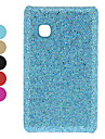 Мерцающий порошок Разработанный ПК Футляр для LG T375 (разных цветов)