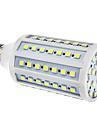E27 15W 86x5050SMD 1200-1300LM 6000-6500K Природный белый свет светодиодных кукурузы лампа (110/220В)