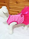Коты / Собаки Платья Розовый Одежда для собак Весна/осень Цветочные / ботанический