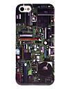 плата шаблон прозрачная рамка жесткий футляр для iphone 5/5s