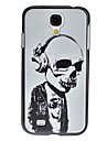 Skeleton Musician Pattern Hard Case for Samsung Galaxy S4 I9500