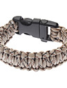 Survival Bracelet com Whistle