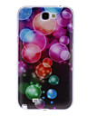 Colourful Bubble Pattern Hard Case for Samsung Galaxy Note 2 N7100