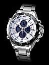 WEIDE Masculino Relógio Militar Relógio de Pulso Quartzo Quartzo Japonês LCD Calendário Cronógrafo Impermeável Dois Fusos Horários alarme