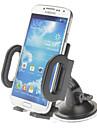 Уникальный дизайн Универсальный лобовое стекло автомобиля Поворотный держатель для iPhone, мобильных телефонов Samsung