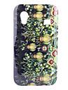 잔디와 삼성 Galaxy 에이스 s5830를위한 올빼미 패턴 하드 케이스